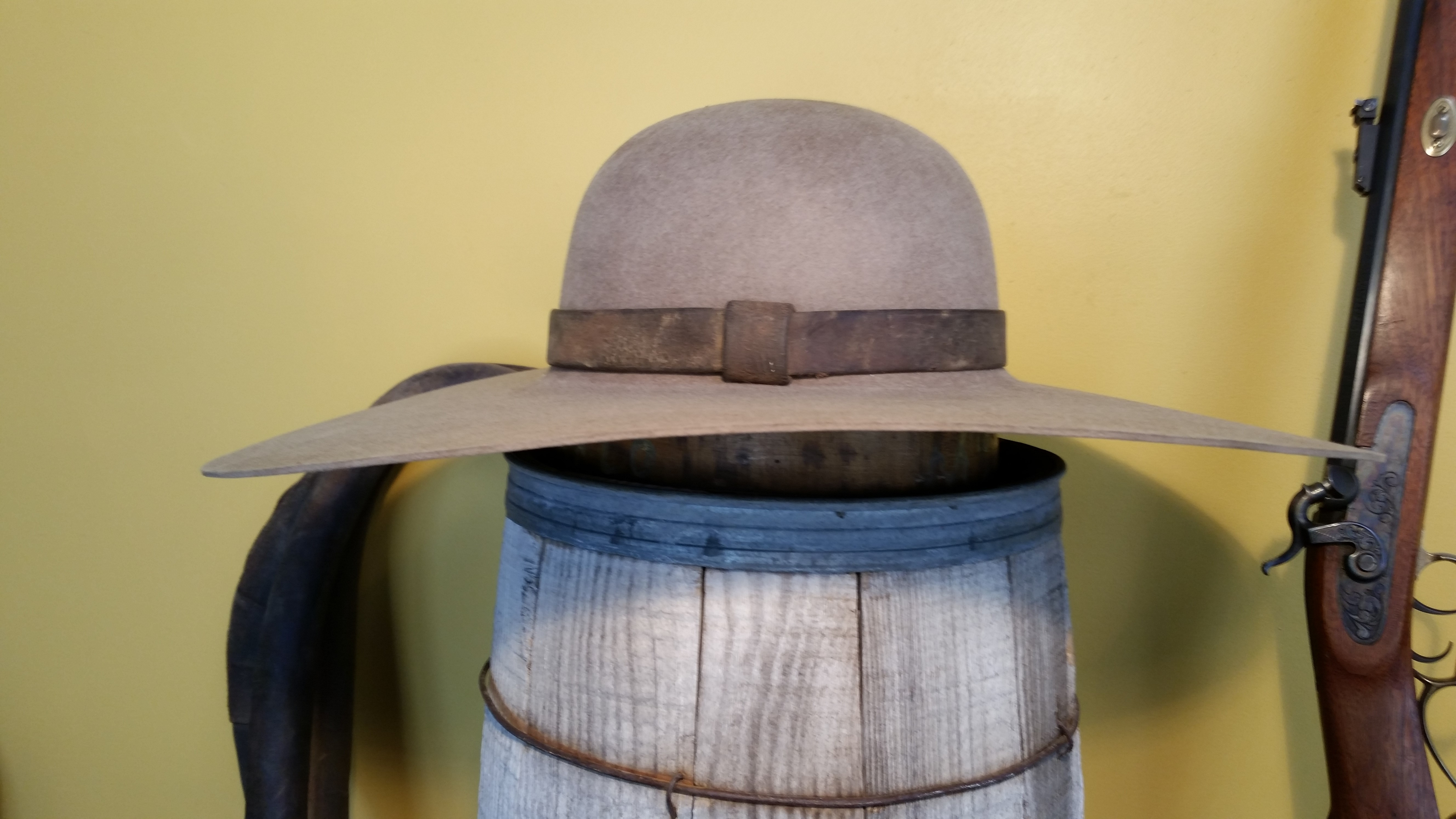 Old Vintage looking Cowboy Hats - Staker Hats d131c42391bd