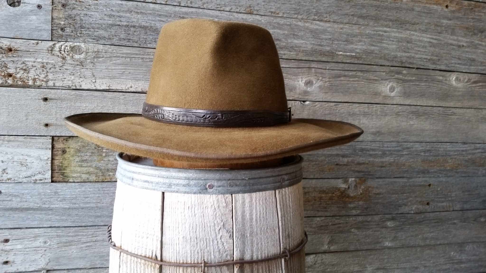 For A Few Dollars More Hat - Staker Hats 02bc6e632be8