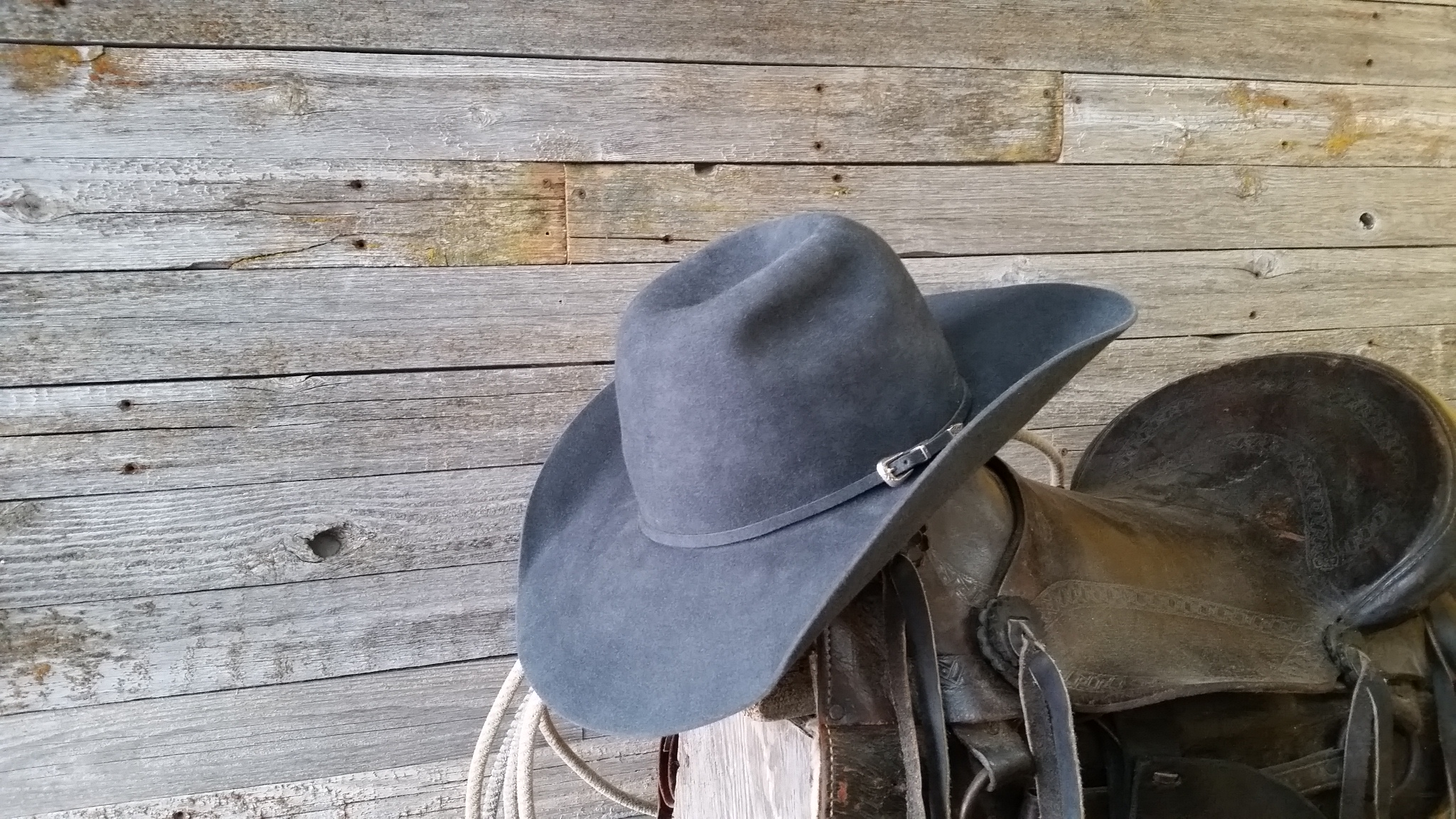 ... bever fur felt which is the best fur felt there is. This kind of hat  will hold up to any weather. Get a custom made hat made in Farr West Utah. c20cbc16aa3